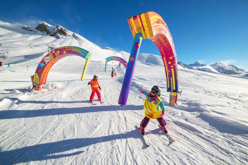 Ski lessons, Snowboard