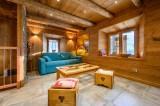 salon chalet d'alpage