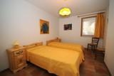 La chambre avec lit en 140 ou lits jumeaux