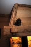 la hotte de la cheminée